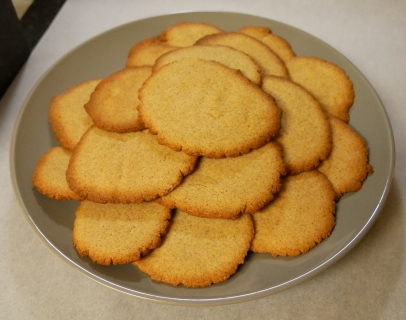 Vanilla Bean Sugar(less) Cookies